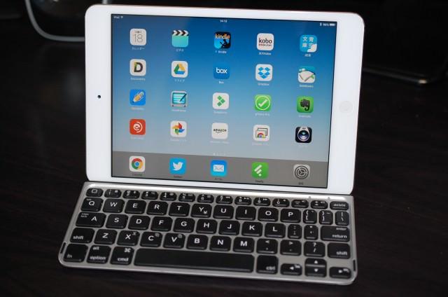 初代iPad mini はiOS9でも動作を軽く設定できる。まだまだ現役続行