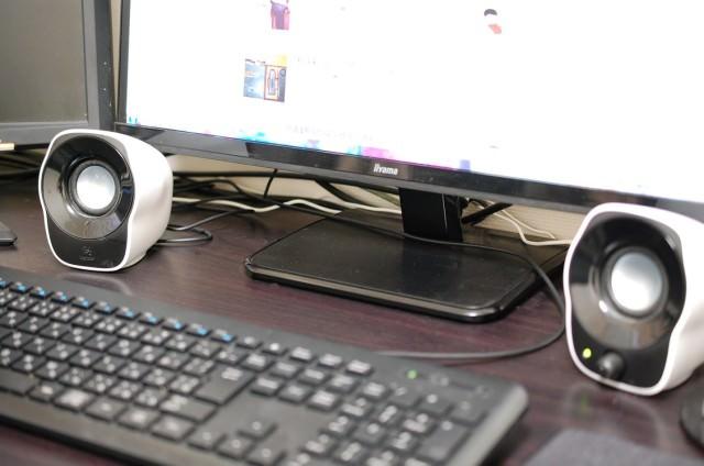 プライムミュージックにお勧め 低価格PCスピーカー ロジクールZ120BW