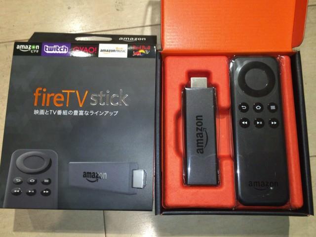 これは楽しい!アマゾン fireTV Stickが到着。