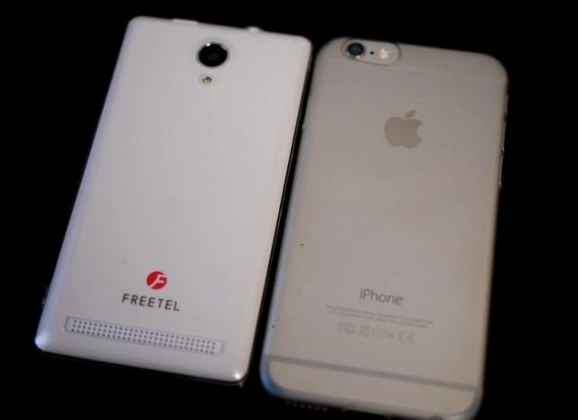 SIMフリースマホ Priori3 LTEの初見レビュー