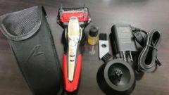 電気シェーバーを5枚刃から3枚刃に買い替え。お風呂剃りラムダッシュES-ST8P
