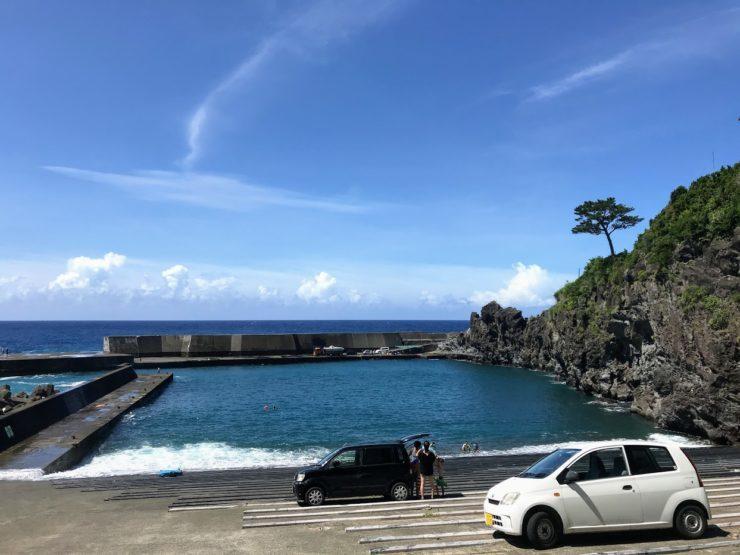 藍ヶ江海水浴場