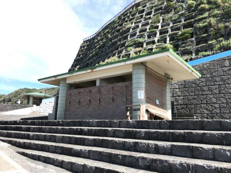 乙千代ヶ浜海水浴場設備